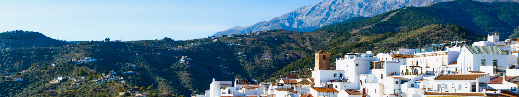 White Villages and Mountains