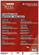 CARTELES FUNDACION MUSICAL 2019