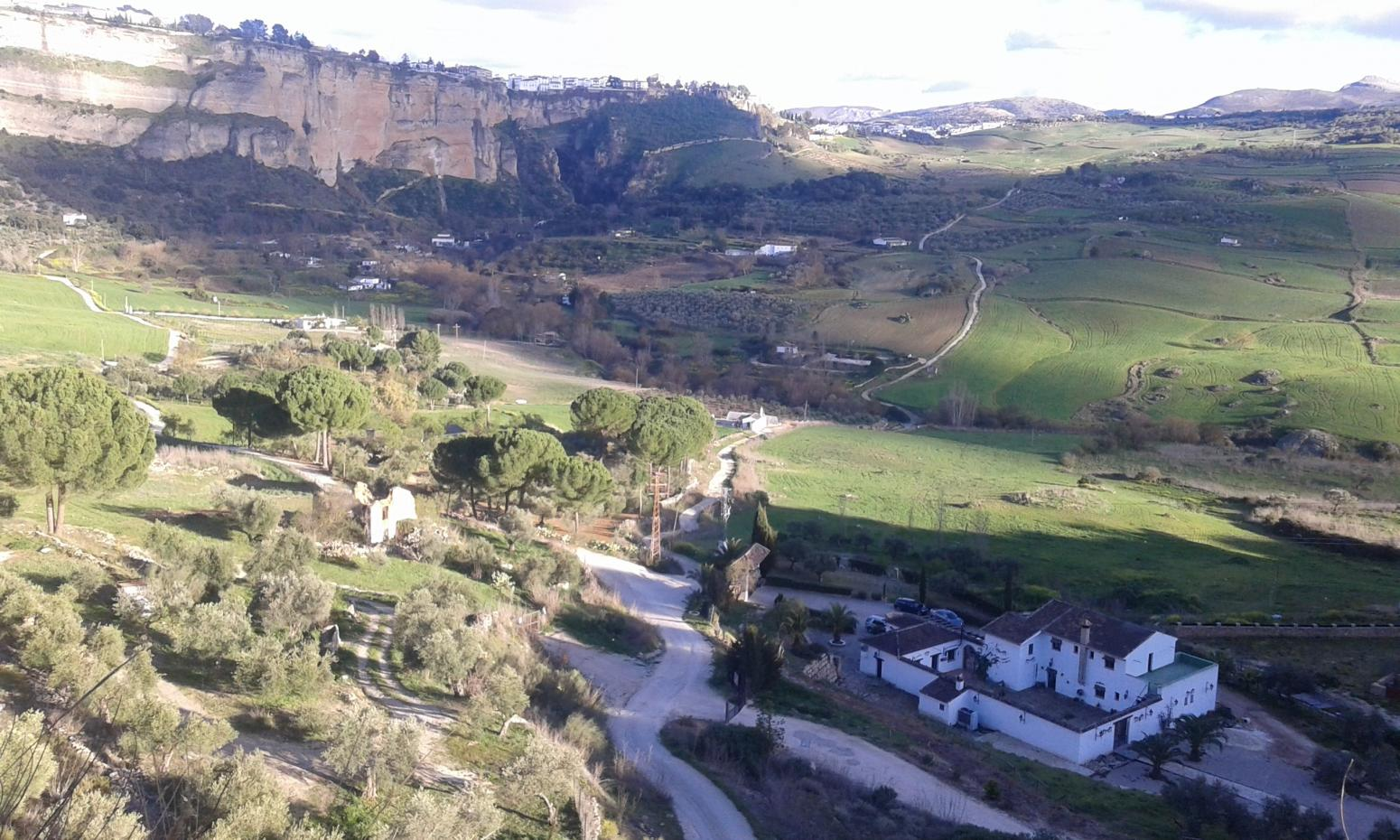 Nature Tours. Vistas desde Ronda