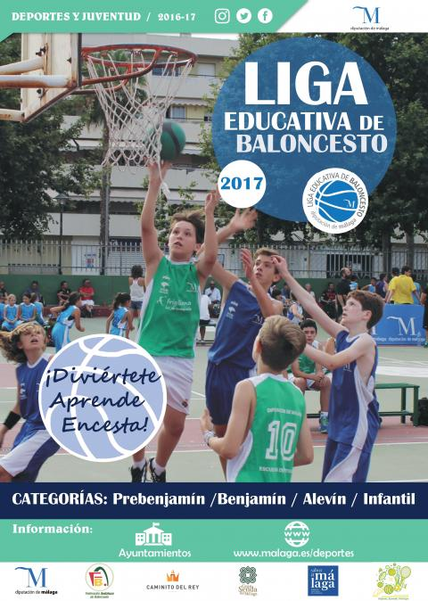 Cartel - Liga Educativa de Baloncesto 2017