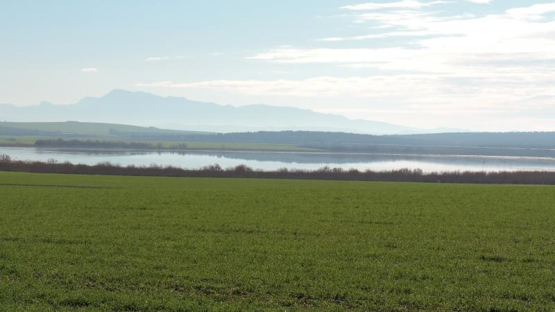 Imagen de 15.	Laguna Dulce from the farmlands