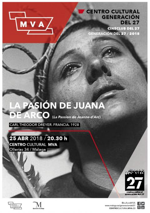 Cineclub la pasion 25 abril