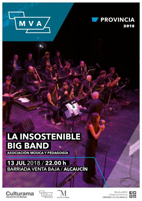 CARTEL INSOSTENIBLE BIG BAND ALCAUCIN P1