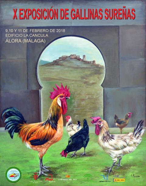 Cartel expo GALLINAS