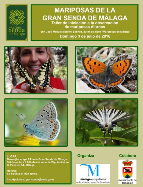 First Workshop on Introduction to Diurnal Butterflies Watching on the Great M�laga Path