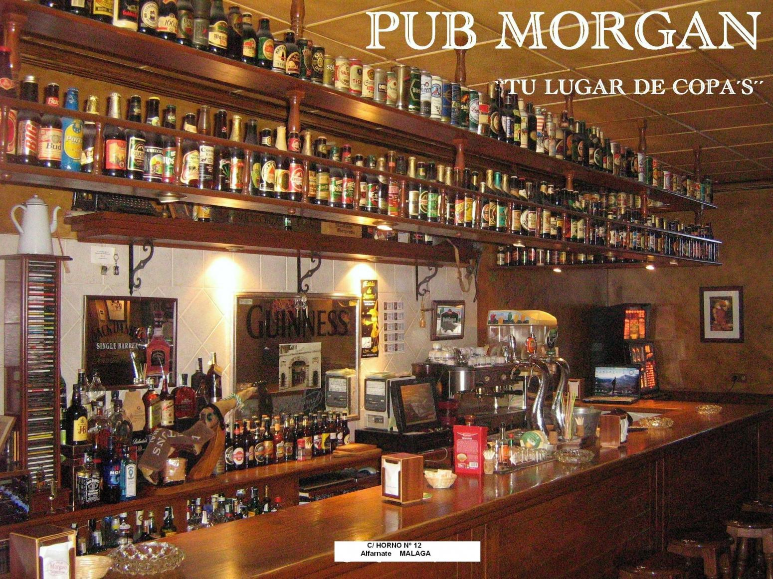 Pub Morgan. Barra