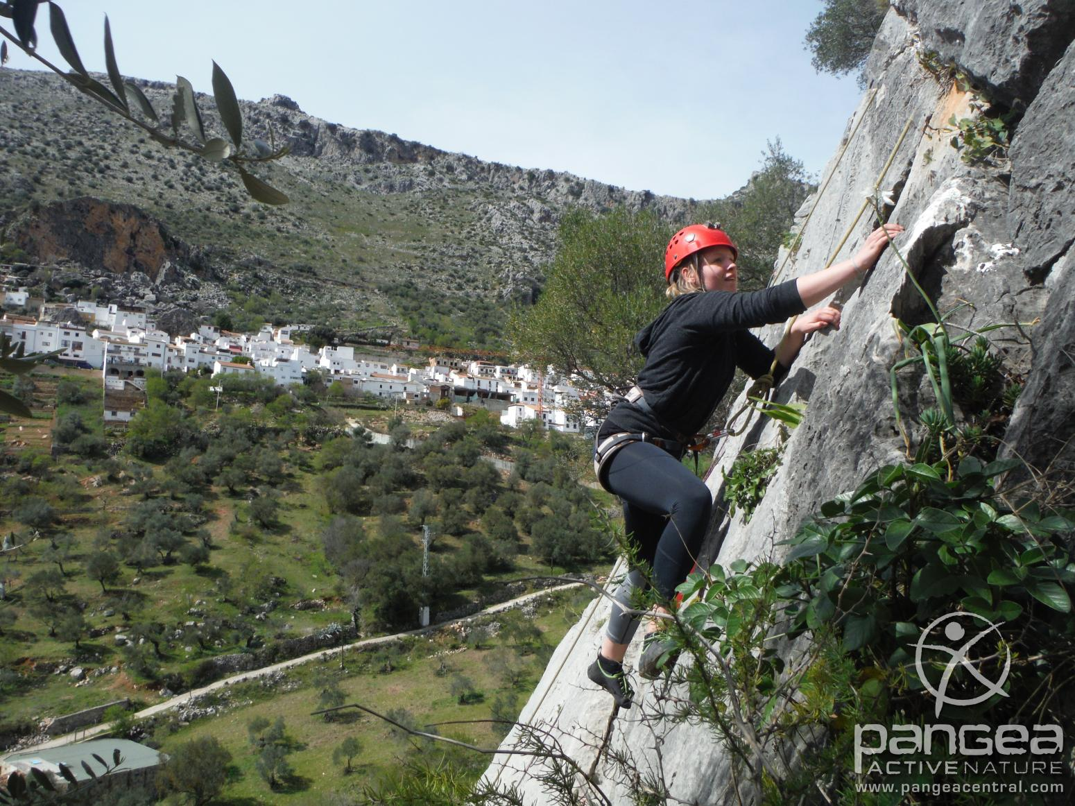 Escalada. Benaoján. Pangea Active Nature
