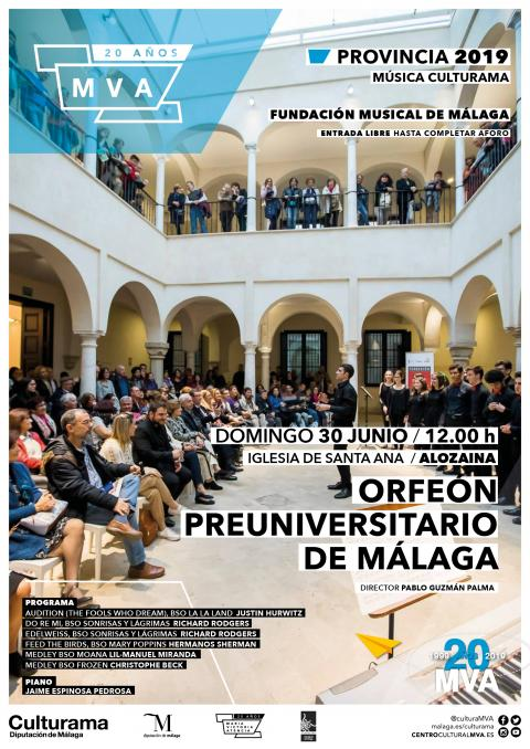 CARTELES FUNDACION MUSICAL 20192