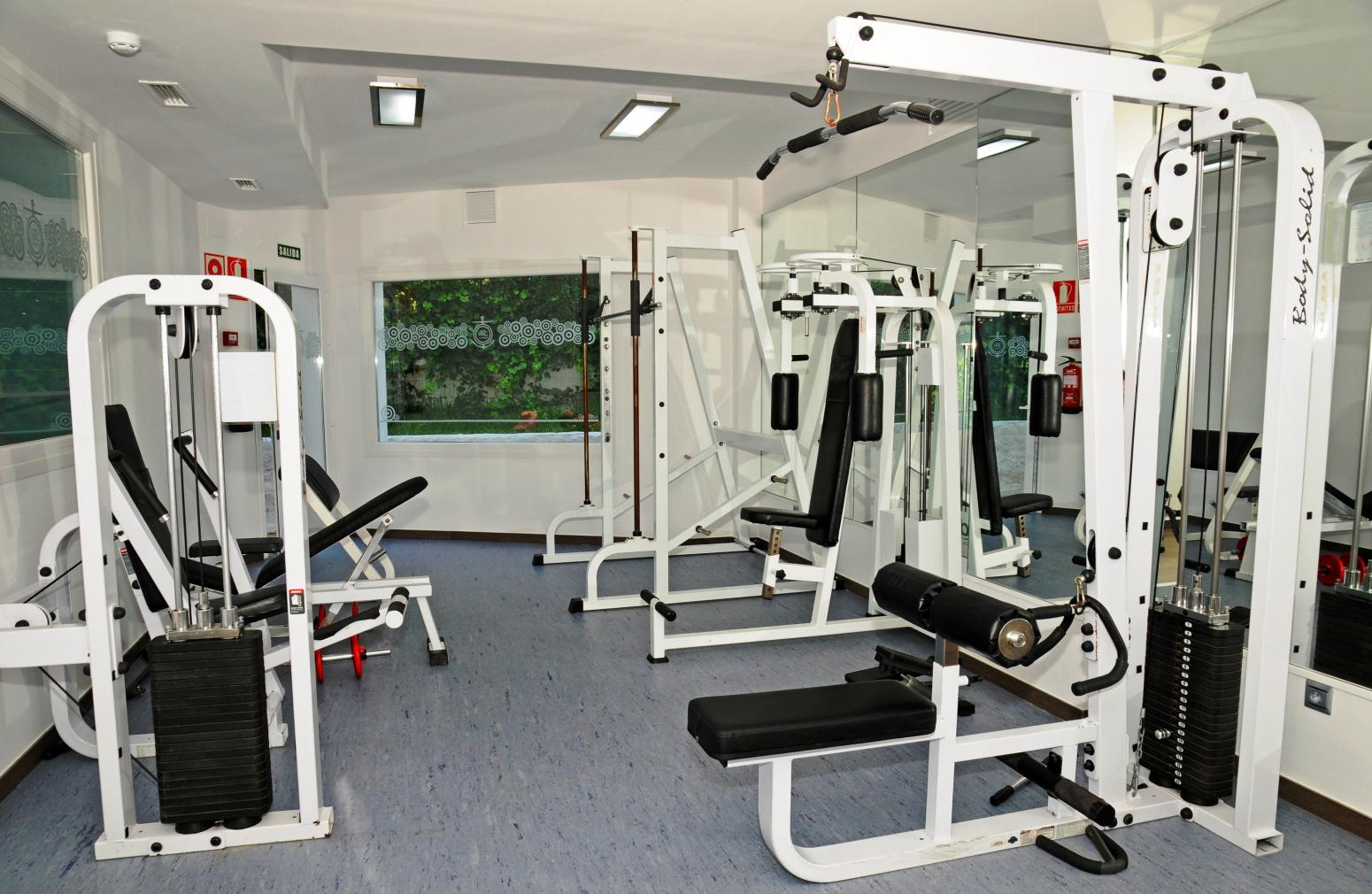 Hotel Nerja Club (Nerja). Gym