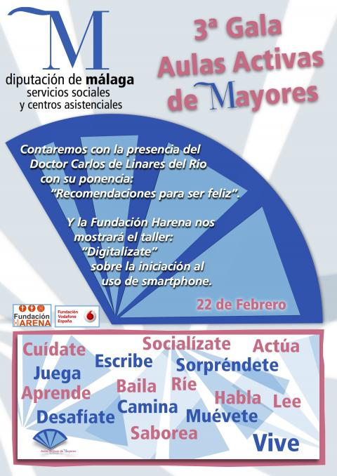 Cartel gala Mayores22Feb