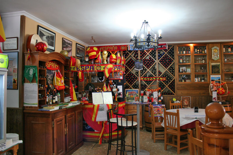 Restaurante El Kiosco (Ardales). Local1