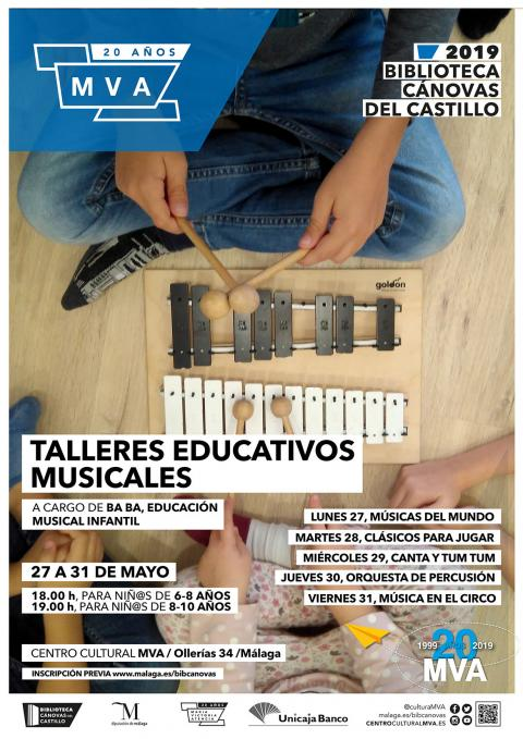 CARTEL TALLERES MUSICALES