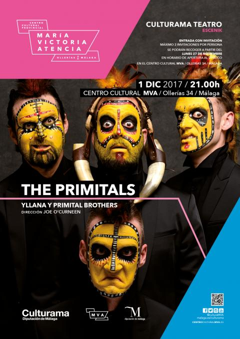 CARTEL TEATRO THE PRIMITALS