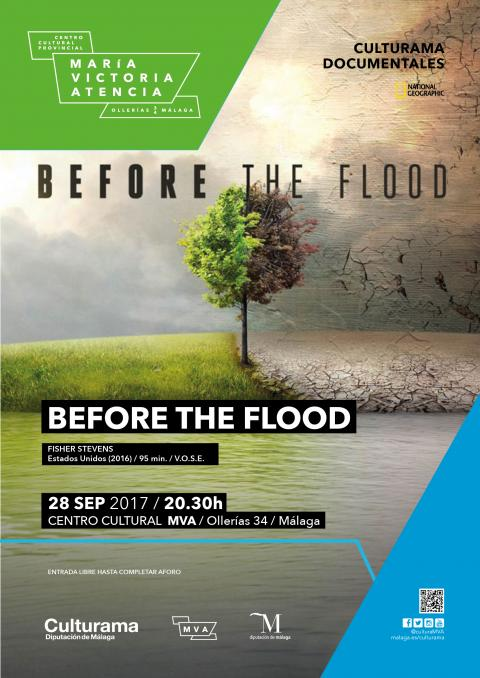 BEFORE THE FLOOD CARTEL logo national geographics