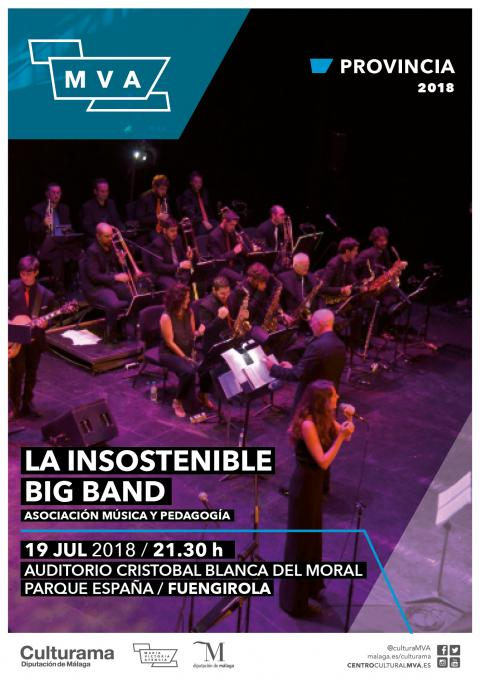 CARTEL INSOSTENIBLE BIG BAND FUENGIROLA P1
