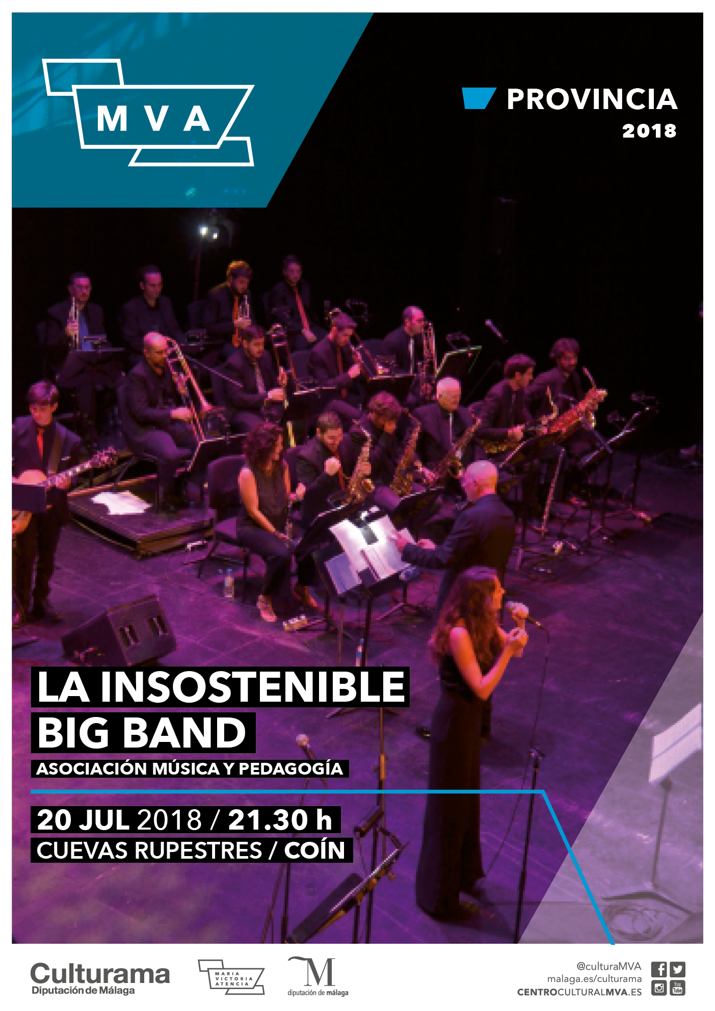 Imagen de Cartel-insostenible-big-band-coin-p1