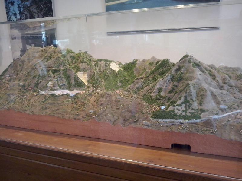 Mijas Mountain Scale Model - South Face