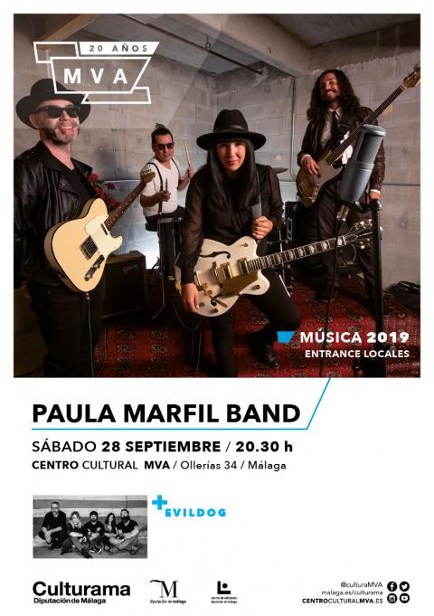 CARTEL PAULA MARFIL BAND