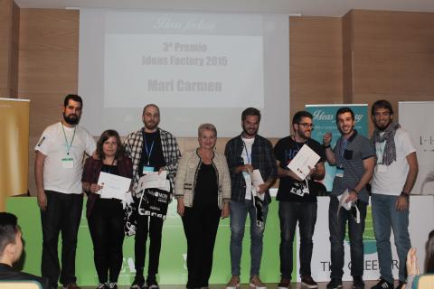 Tercer premio Ideas Factory