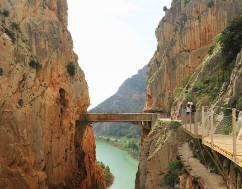 Caminito del Rey (foto de Juan María Álvarez)