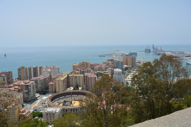 gibralfaro photo spot malaga