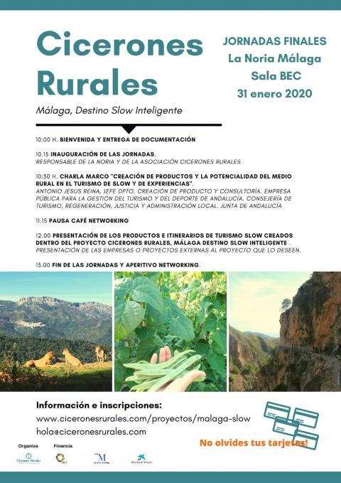 Jornada final Cicerones Rurales