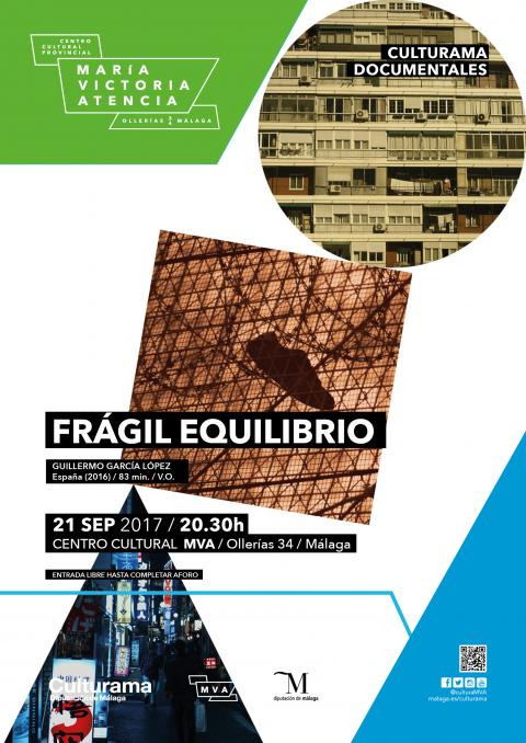 Cartel documental Frágil equilibrio