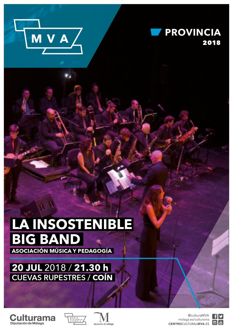 Imagen de CARTEL INSOSTENIBLE BIG BAND COIN P1