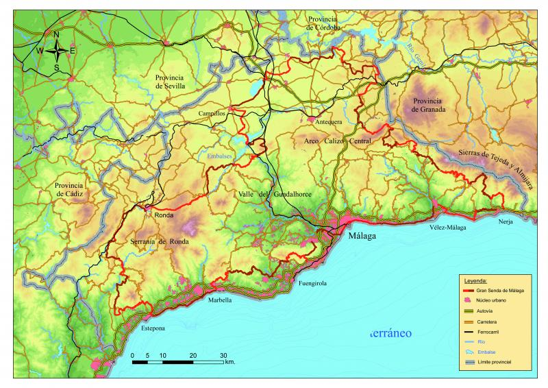 Maps of the stages of the Great Path of Málaga (GR 249 ... Map Of Central Malaga on map of italica, map of marsala, map of getxo, map of monchengladbach, map of iruna, map of macapa, map of soria, map of puerto rico gran canaria, map of costa de la luz, map of isla margarita, map of bizkaia, map of venice marco polo, map of tampere, map of graysville, map of mutare, map of penedes, map of mount ephraim, map of cudillero, map of andalucia, map of sagunto,