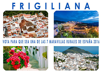 Cartel Frigiliana 7 maravilla rural