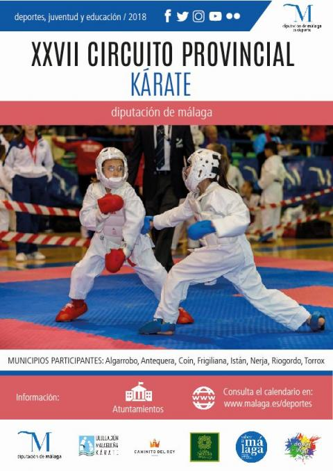 Cartel Circuito Karate 2019