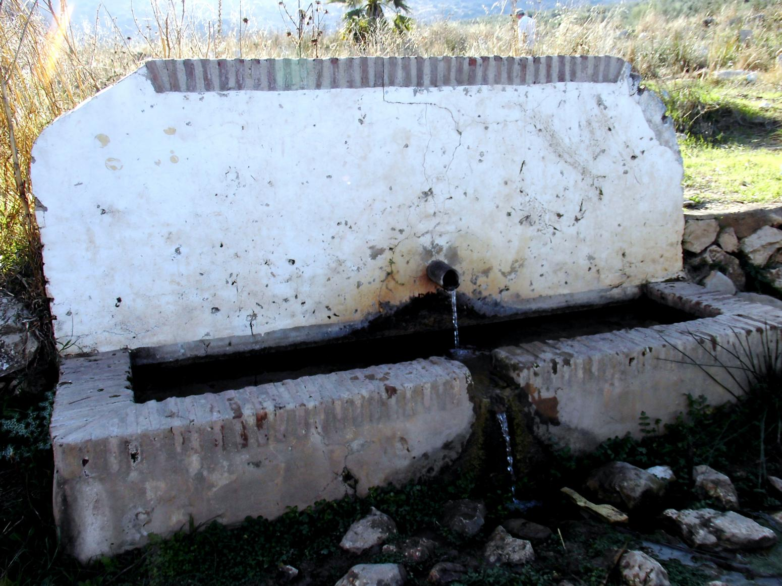 Imagen de GR 249. Stage 13. Archidona - Villanueva de Tapia. At the beginning of this Stage you'll pass close by the Fuente de Sacristan spring, which is very important for the walkers in Archidona
