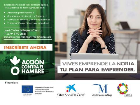 Cartel Vives Emprende LaNoria