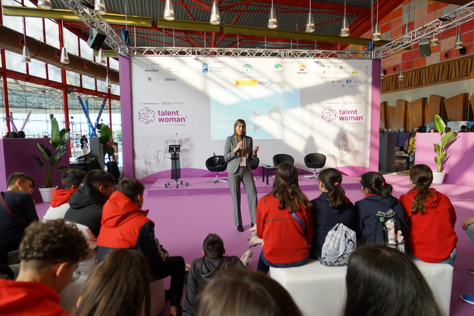 Imagen de Coloquios en Talent Woman 2019