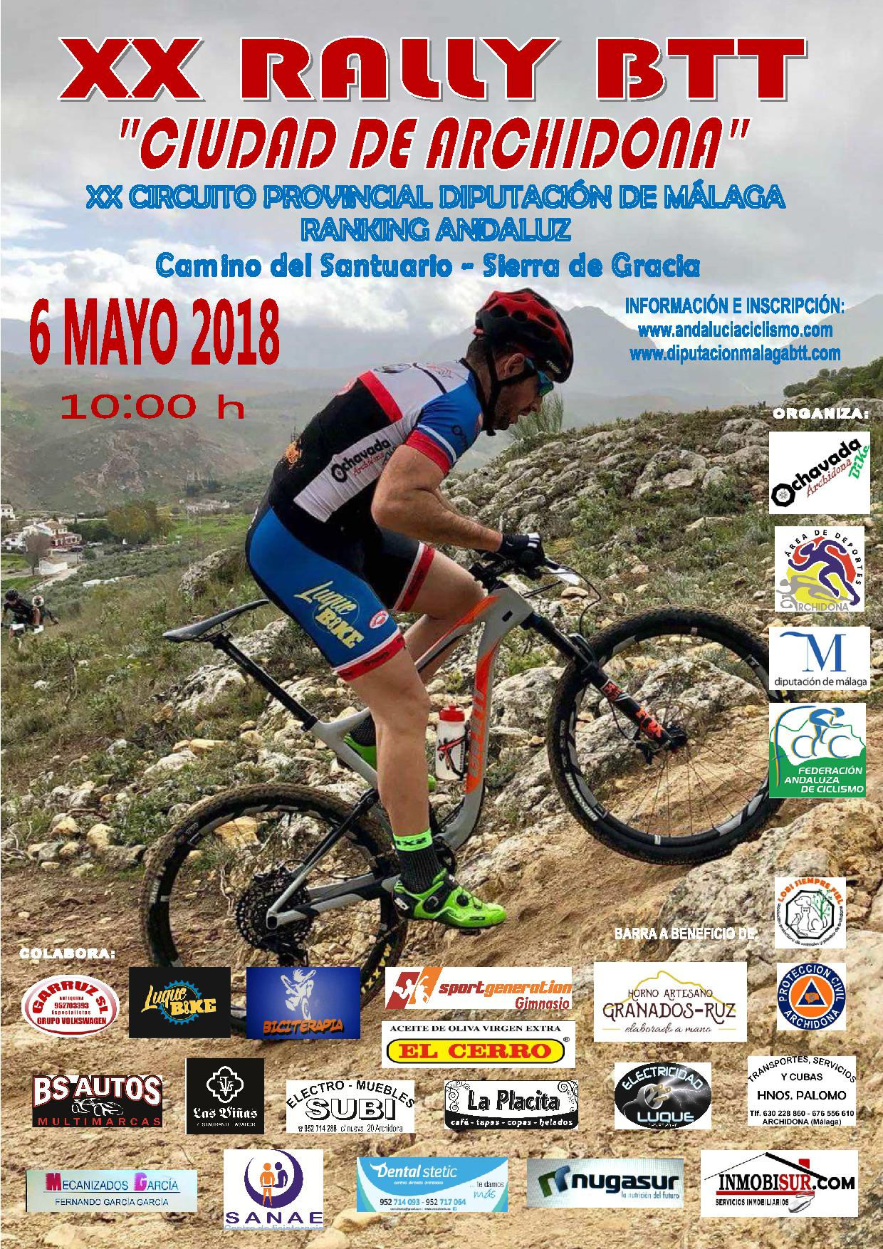 Imagen de Mountain bike Rally Archidona 2018