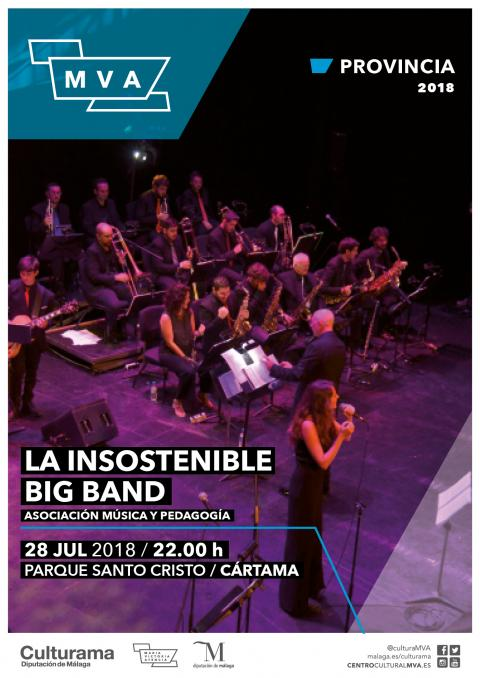 CARTEL INSOSTENIBLE BIG BAND CARTAMA P1