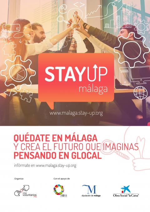 CARTEL STAYUPMALAGA