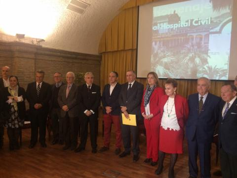 Homenaje al Hospital Civil