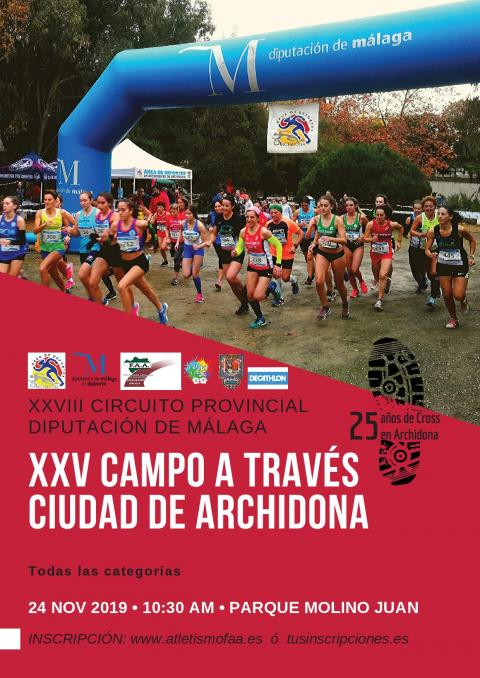 Cartel CROSS ARCHIDONA 2019