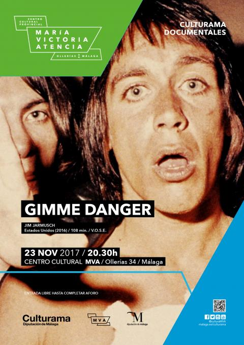 Cartel documental Gimme Danger