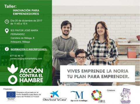 CARTEL VIVES EMPRENDE Antequera