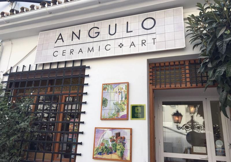 Angulo Ceramic Art workshop facade