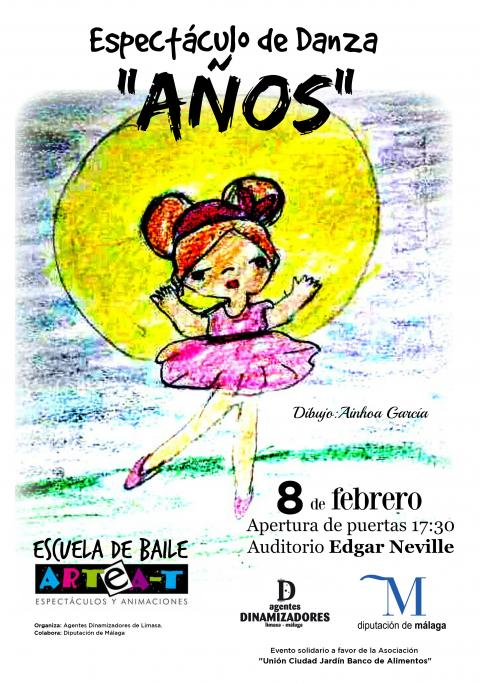Cartel Danza APEN 8Feb