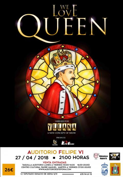 Espectáculo Musical We love Queen