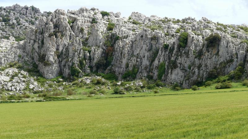 GR 249.4. Section Stage 2. Karst landscape in the Torcal by the Cortijo de los Navazos