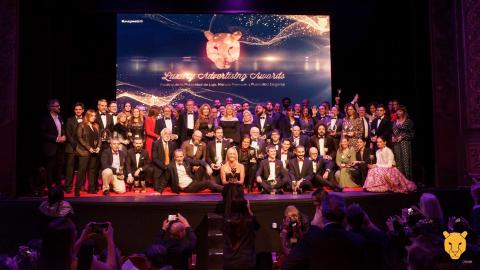 Foto de ganadores Luxury Awards 2019