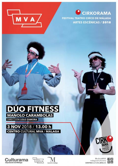 Cartel DÚO FITNESS 3 NOV MVA