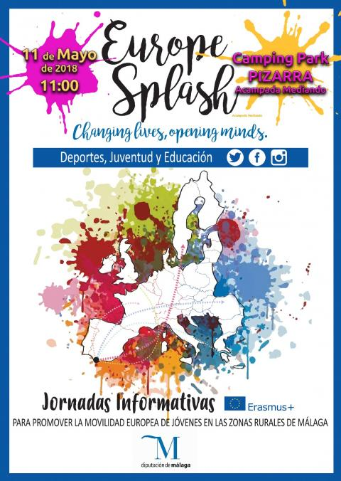 Europe Splash Pizarra