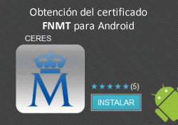 Certificado digital Android