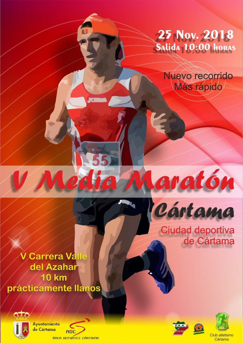 Imagen de Cartel V Media Maratón y Carrera Popular Valle del Azahar 251118